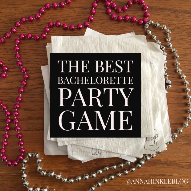 The Best Bachelorette Party Game