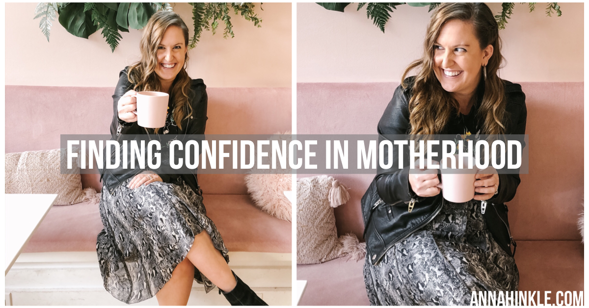 Finding Confidence in Motherhood